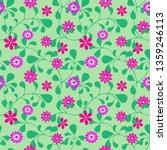 seamless summer pattern ... | Shutterstock .eps vector #1359246113