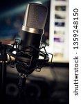 audio recording vocal studio...   Shutterstock . vector #1359248150