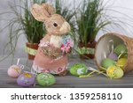 easter decorations  easter bunny | Shutterstock . vector #1359258110