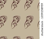 vector seamless floral pattern... | Shutterstock .eps vector #1359258959
