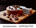 biscuit with poppy seeds and... | Shutterstock . vector #1359262709