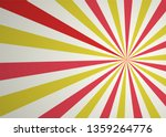 red and yellow abstract comic... | Shutterstock .eps vector #1359264776