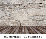 empty interior stone wall... | Shutterstock . vector #1359285656