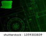 cover  flyer. vector... | Shutterstock .eps vector #1359303839