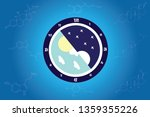 the circadian rhythms are... | Shutterstock .eps vector #1359355226