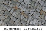 gabion   made of natural stone... | Shutterstock . vector #1359361676