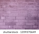 brick wall violet background or ... | Shutterstock . vector #1359370649