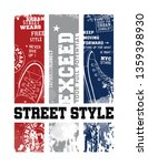 street style illustration for t ... | Shutterstock .eps vector #1359398930