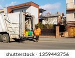 collection and removal of... | Shutterstock . vector #1359443756