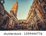 The diocletian's palace in...