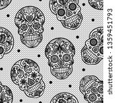 seamless vector pattern with... | Shutterstock .eps vector #1359451793