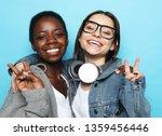 shot of happy interracial...   Shutterstock . vector #1359456446