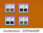 purple  blue and white windows... | Shutterstock . vector #1359460289