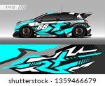 race car wrap design vector.... | Shutterstock .eps vector #1359466679