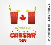 national caesar day in canada | Shutterstock .eps vector #1359498626
