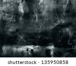 abstract background painting | Shutterstock . vector #135950858