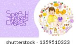 concept presentation speech... | Shutterstock .eps vector #1359510323