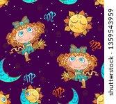 a fun seamless pattern for kids.... | Shutterstock .eps vector #1359543959