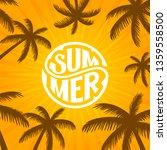 summer banner design.... | Shutterstock .eps vector #1359558500