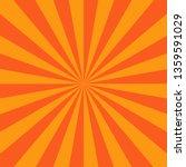 orange red radial stripes...   Shutterstock .eps vector #1359591029