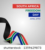 happy republic of south africa... | Shutterstock .eps vector #1359629873