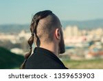 backside of young man's head...   Shutterstock . vector #1359653903