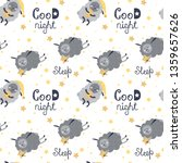 cute seamless pattern with...   Shutterstock .eps vector #1359657626