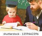 teacher in formal wear and... | Shutterstock . vector #1359662396