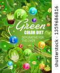 detoxification green color diet ... | Shutterstock .eps vector #1359686816