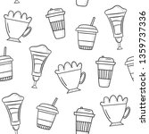vector seamless pattern with... | Shutterstock .eps vector #1359737336