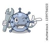 mechanic miniature mine... | Shutterstock .eps vector #1359756023