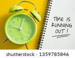 time is running out concept...   Shutterstock . vector #1359785846