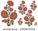 Decorative Mughal  Flower Moti...