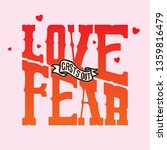 handlettering typography love... | Shutterstock .eps vector #1359816479