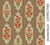 Mughal Floral Motif Bunch...