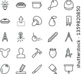 thin line vector icon set  ... | Shutterstock .eps vector #1359820850