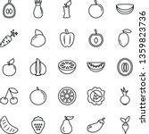 thin line vector icon set  ... | Shutterstock .eps vector #1359823736
