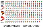 national flags of the countries.... | Shutterstock .eps vector #1359872909