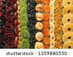 assortment of tasty dried... | Shutterstock . vector #1359880550