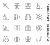 chemical laboratory equipment... | Shutterstock .eps vector #1359898850