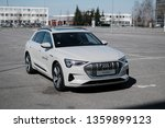riga  march 2019   new audi e... | Shutterstock . vector #1359899123