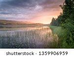 golden sunlight of the sundown... | Shutterstock . vector #1359906959