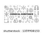 chemical substance vector... | Shutterstock .eps vector #1359908153