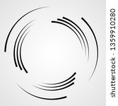 lines in circle form . spiral... | Shutterstock .eps vector #1359910280
