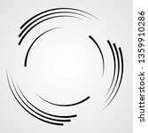 lines in circle form . spiral... | Shutterstock .eps vector #1359910286