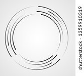lines in circle form . spiral... | Shutterstock .eps vector #1359910319