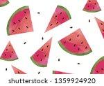 water pattern _ watercolor style | Shutterstock .eps vector #1359924920