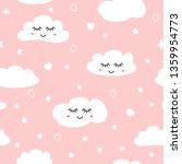 sweet pink seamless pattern... | Shutterstock .eps vector #1359954773
