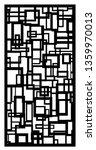 cubism vector panel  pattern | Shutterstock .eps vector #1359970013