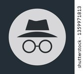 incognito icon. browse in... | Shutterstock .eps vector #1359971813